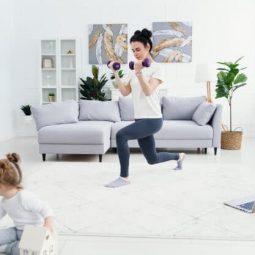 فیلم ورزش در خانه ماه اول
