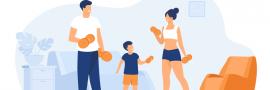 مربی ورزشی خانواده